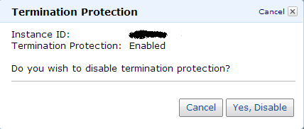 AWS Termination Protection