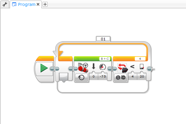 Programming Lego Mindstorms EV3 with .NET API - Playground for the mind
