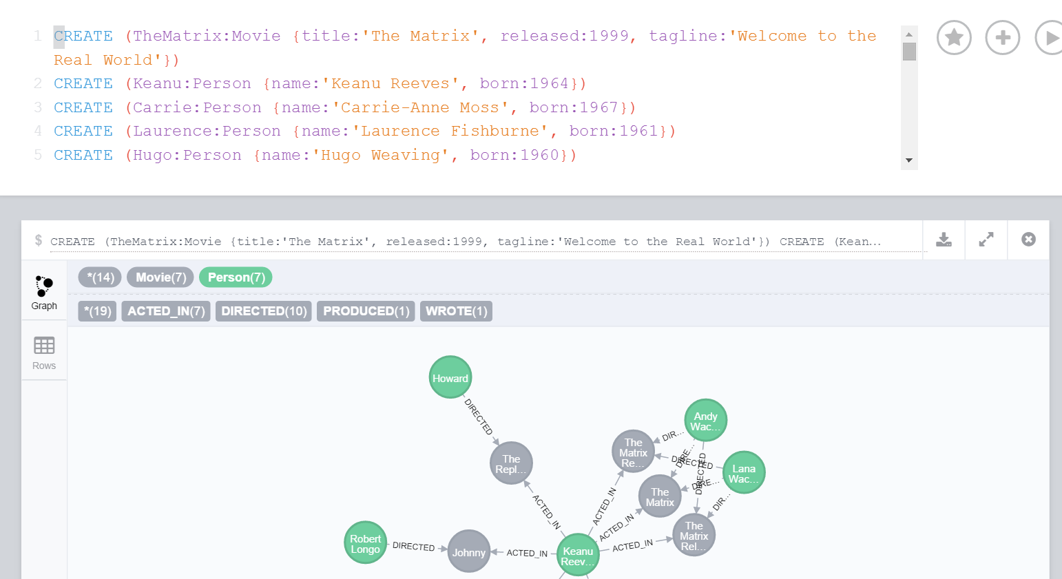 Neo4J Browser Tips & Tricks - Playground for the mind