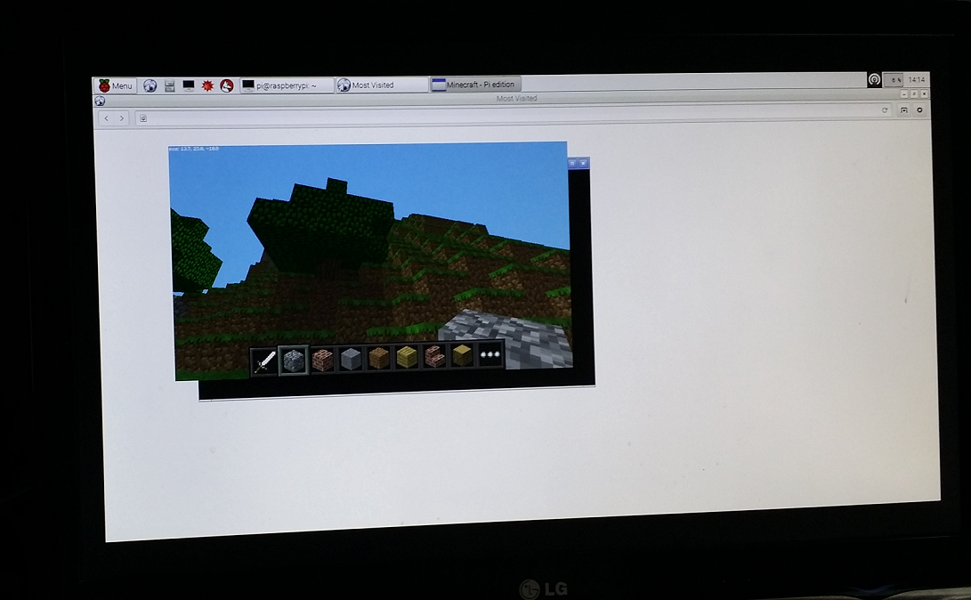 Minecraft on Raspberry Pi 2