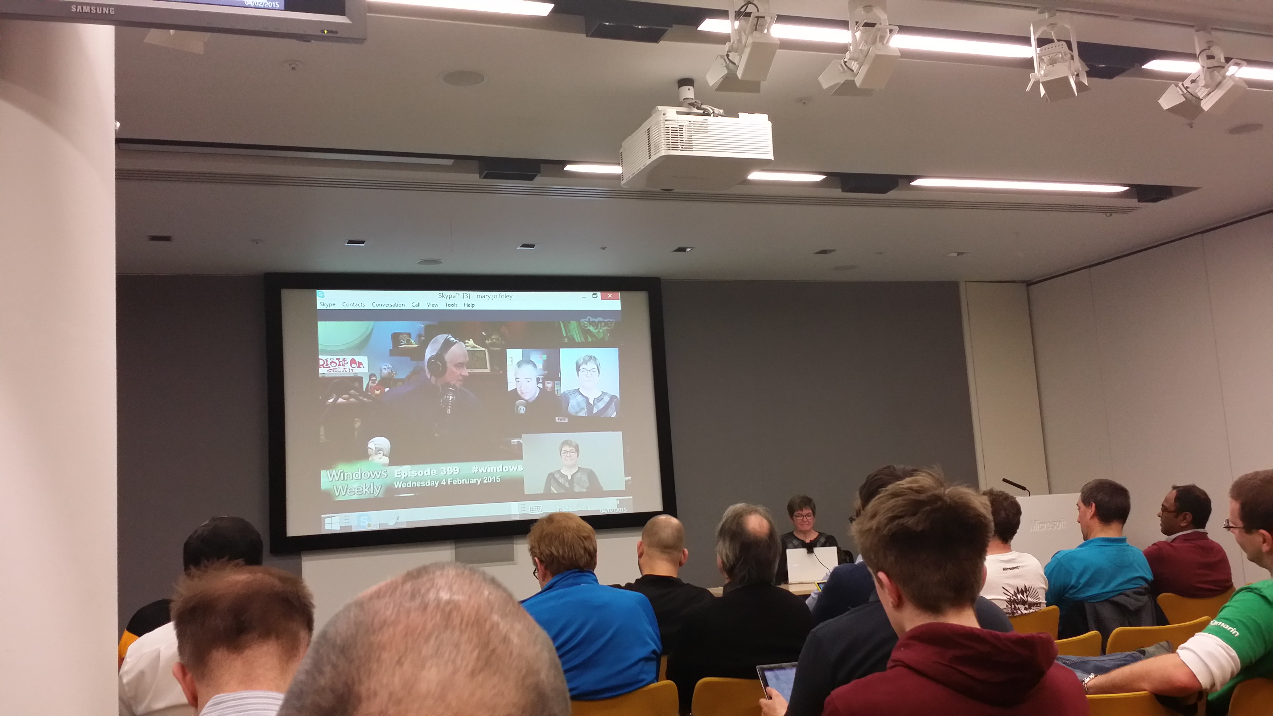 Windows Weekly in London with Mary Jo Foley 2