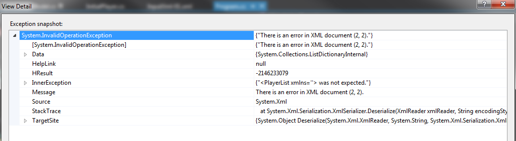 C# xml serialization tips playground for the mind.