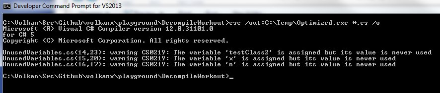 Disassembling And Decompiling  NET Assemblies - Playground