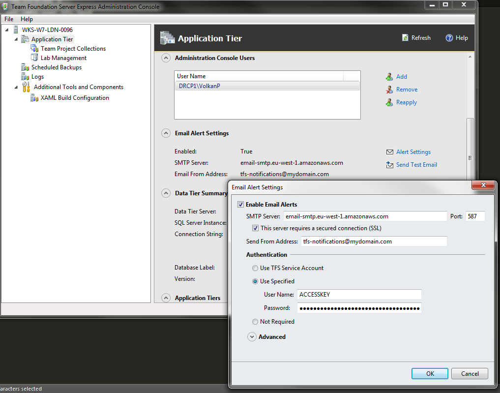 Continuous Integration with TFS Express 2015 from scratch