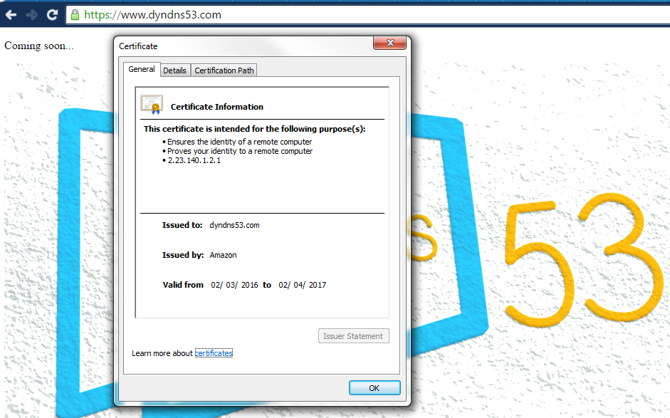 Free SSL certificates with AWS Certificate Manager