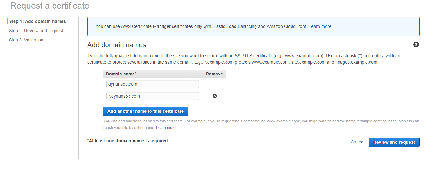 Free Ssl Certificates With Aws Certificate Manager Playground For
