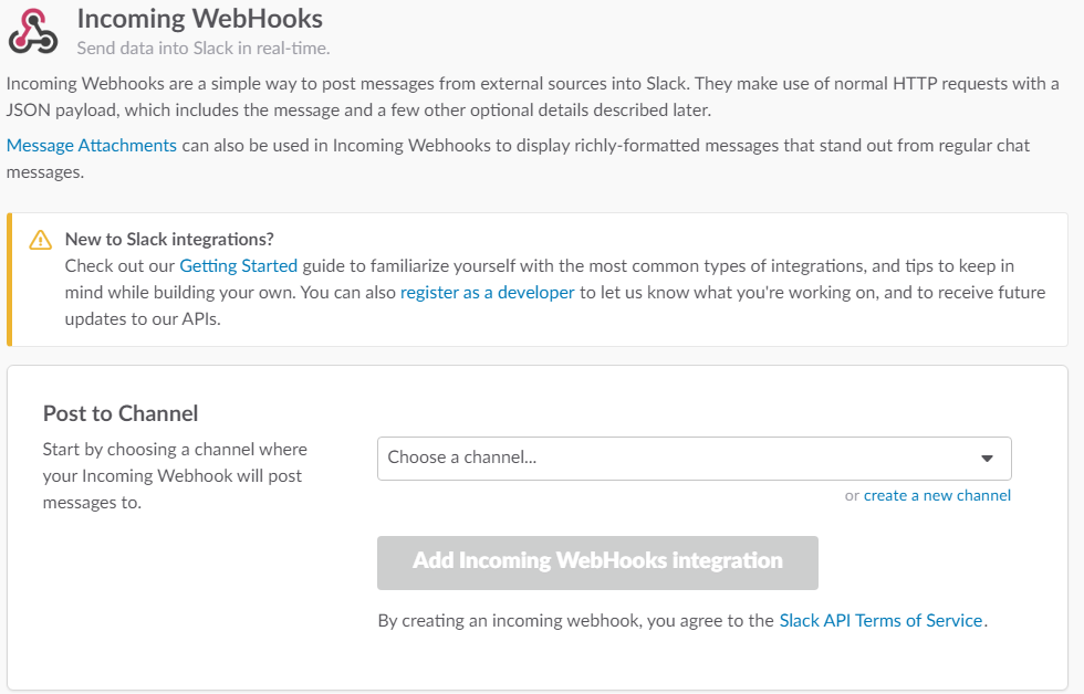 Integrating C# applications with Slack - Playground for the mind