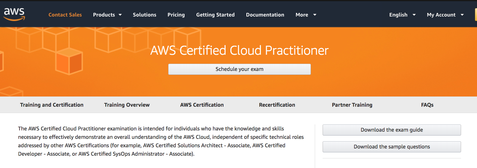 Aws Certification Notes Aws Certified Cloud Practitioner