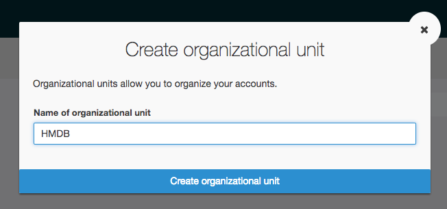 Managing Accounts with AWS Organizations - Playground for